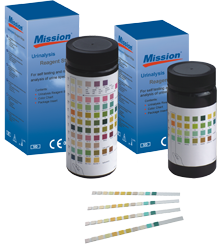 Mission Urine Reagent Strips